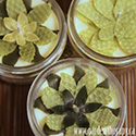 Beeswax Flower Mason Jar Candles